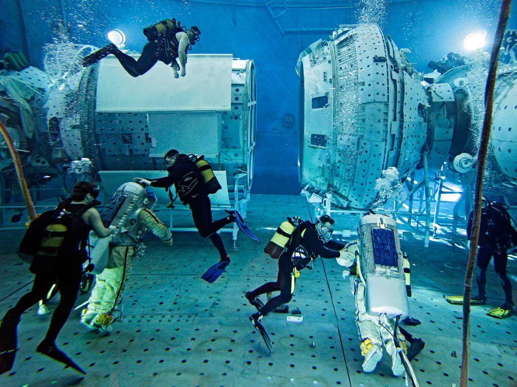 Cosmonaut training